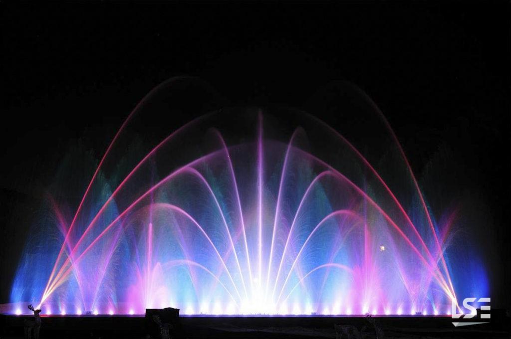 Dancing Fountain In Toki No Sumika Laser System Europe